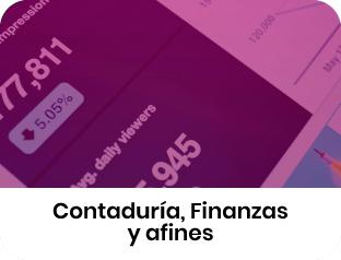 Contaduría, Finanzas