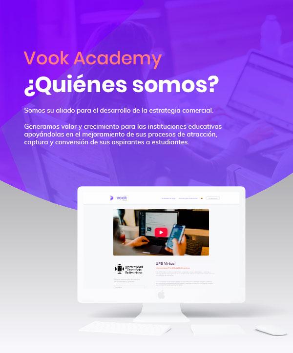 Quiénes somos Vook Academy